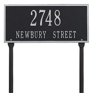 Personalized Hartford Lawn Address Plaque - 2 Line