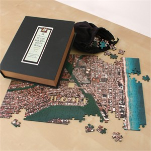 Heirloom Personalized Wooden Aerial Photo Puzzle