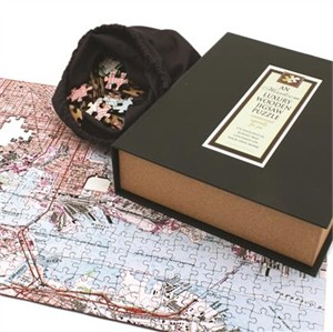 Heirloom Personalized Wooden Map Puzzle