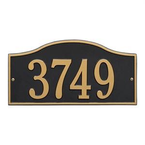 Personalized Hills Address Plaque - 1 Line