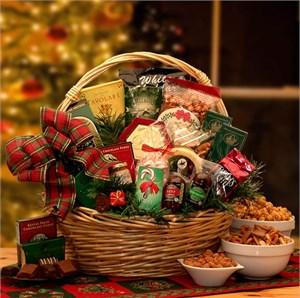 Holiday Celebrations Large Gift Basket
