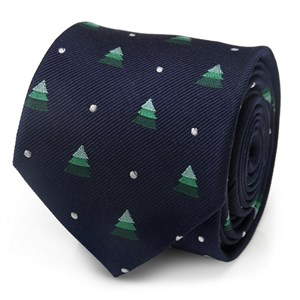 Holiday Tree Men's Tie