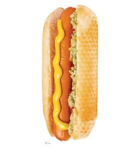 Hot Dog Cardboard Cutout