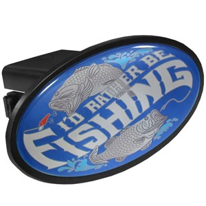 I'd Rather be Fishing Hitch Cover