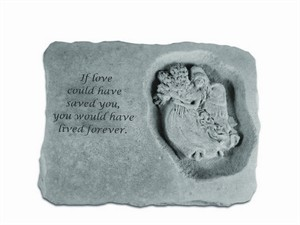 If love could... with Angel Memorial Stone