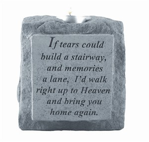 If tears single short Candleholder