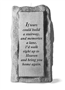 If tears single tall Candleholder