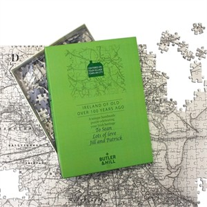 Ireland of Old Personalized Map Puzzle