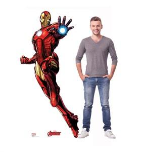 Iron Man Avengers Animated Cardboard Cutout