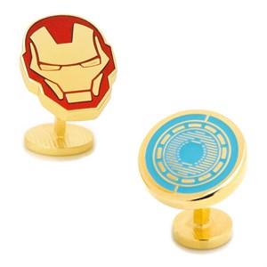Iron Man Helmet and Arc Reactor Cufflinks