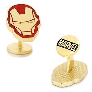 Iron Man Helmet Cufflinks