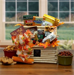 """It's Fall, Y'all!"" Log Cabin Gift Basket"