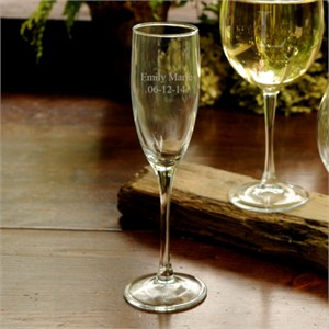 Personalized Toasting Flute