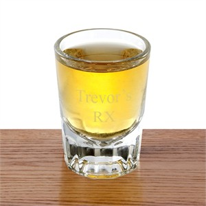 Personalized Distinction Shot Glass