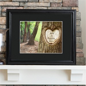 Personalized Tree of Love Print Frame