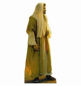 Jesus Wherever He Leads Me Cardboard Cutout