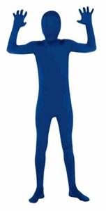 Kids 2nd Skin Blue Body Suit