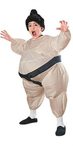Kids Inflatable Sumo Wrestler Costume