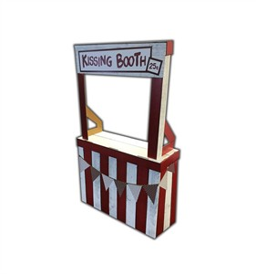 Kissing Booth Cardboard Cutout