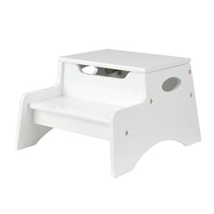 KidKraft Step 'N Store Stool - White