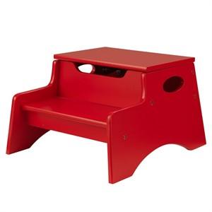 KidKraft Step n Store Ladder - Red