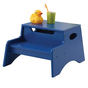 KidKraft Step 'N Store Stool - Blue