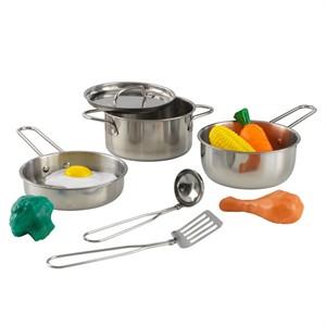 Kidkraft Toy Kitchen Metal Accessories Set