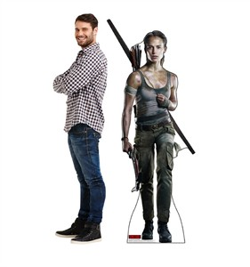 Lara Croft Tomb Raider Movie 2018 Cardboard Cutout