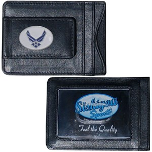 Leather Air Force Wallet
