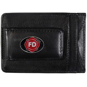 Leather Firefighter Wallet