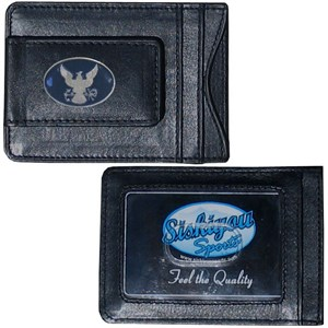 Leather Navy Wallet