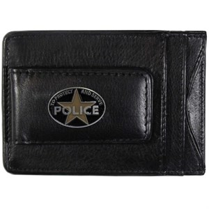 Leather Police Wallet