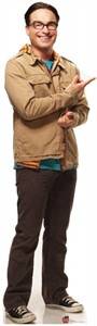 Life Size Big Bang Theory Leonard Standee