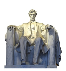 Lincoln Memorial Cardboard Cutout