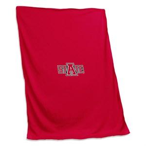Arkansas State Sweatshirt Blanket