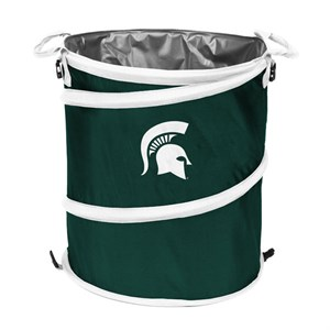 Michigan State Trash Container