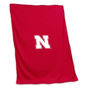 Nebraska Sweatshirt Blanket