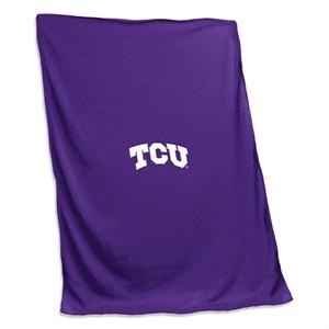 Texas Christian Sweatshirt Blanket