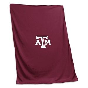 Texas A&M Sweatshirt Blanket