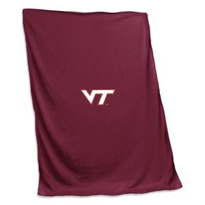 Virginia Tech Sweatshirt Blanket