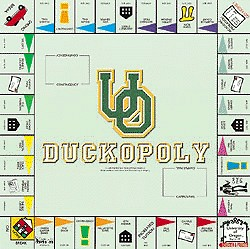 Oregon - Duckopoly Board Game