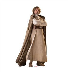 Luke Skywalker Star Wars VIII The Last Jedi Cardboard Cutout