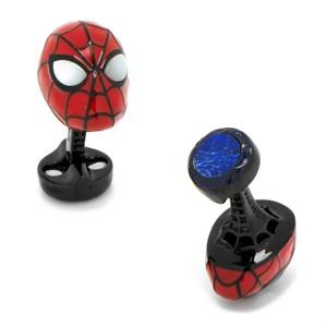 Luxe Spider-Man Cufflinks with Lapis