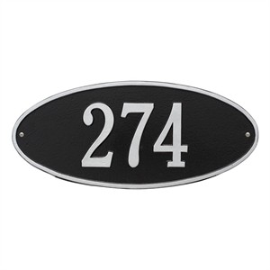 Personalized Madison Address Plaque - 1 Line