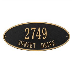 Personalized Madison Address Plaque - 2 Line
