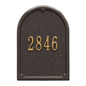 Personalized Mailbox Door Plaque