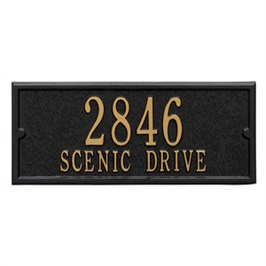 Personalized Mailbox Side Plaque