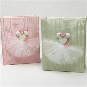 Ballerina Personalized Baby Photo Album - Small