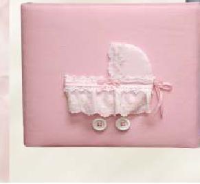 Baby Buggy Personalized Baby Photo Album - Large