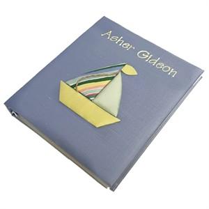 Sailboat Personalized Baby Photo Album - Large - Ring Bound